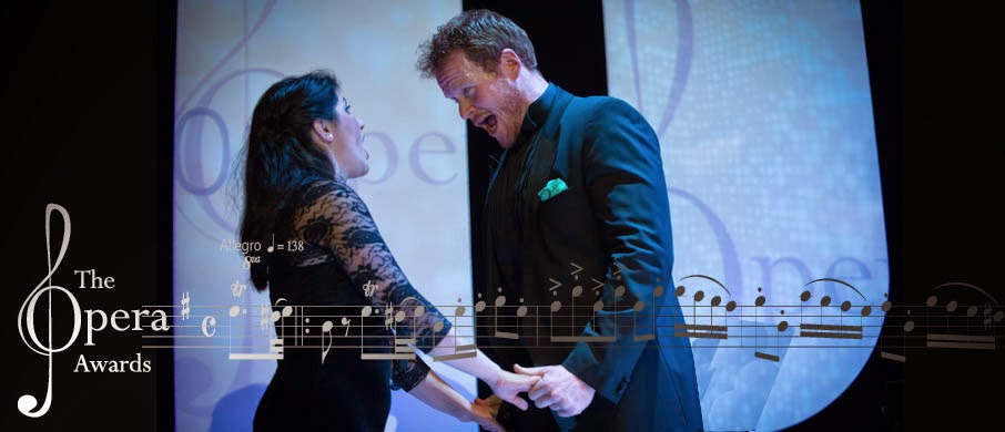 Duncan Rock and Susana Gasper at the 2014 International Opera Awards