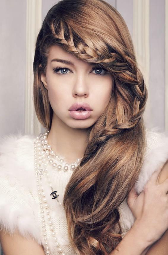 peinados y moda fabulosos peinados con trenzas para fiestas