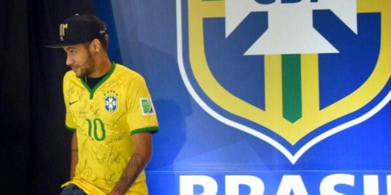 Neymar Jadi Main di Olimpiade 2016