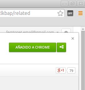 Cache Killer para limpiar Google Chrome desactivado
