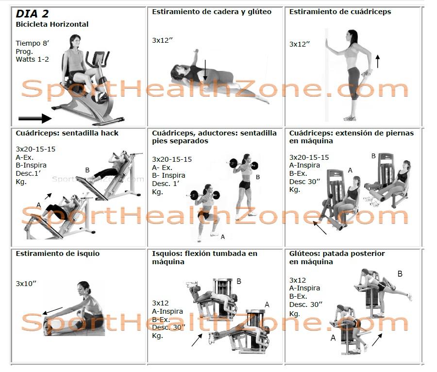 rutinas de ejercicios con pesas para mujer pictures to pin