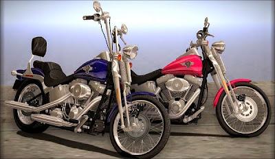 Mod Harley FXSTS Springer Softail