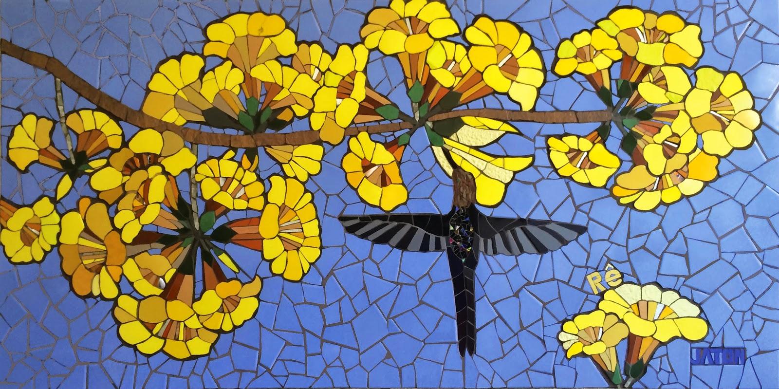 Mosaico creativo de fj mosaic art murales for Murales faciles y creativos