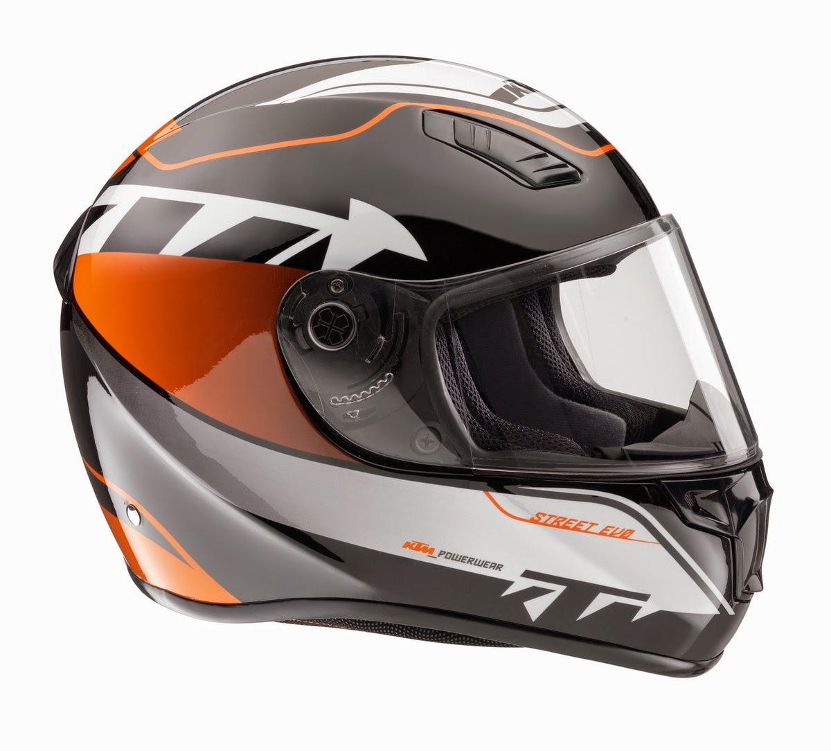 Ktm Street Evo Helmet Visor