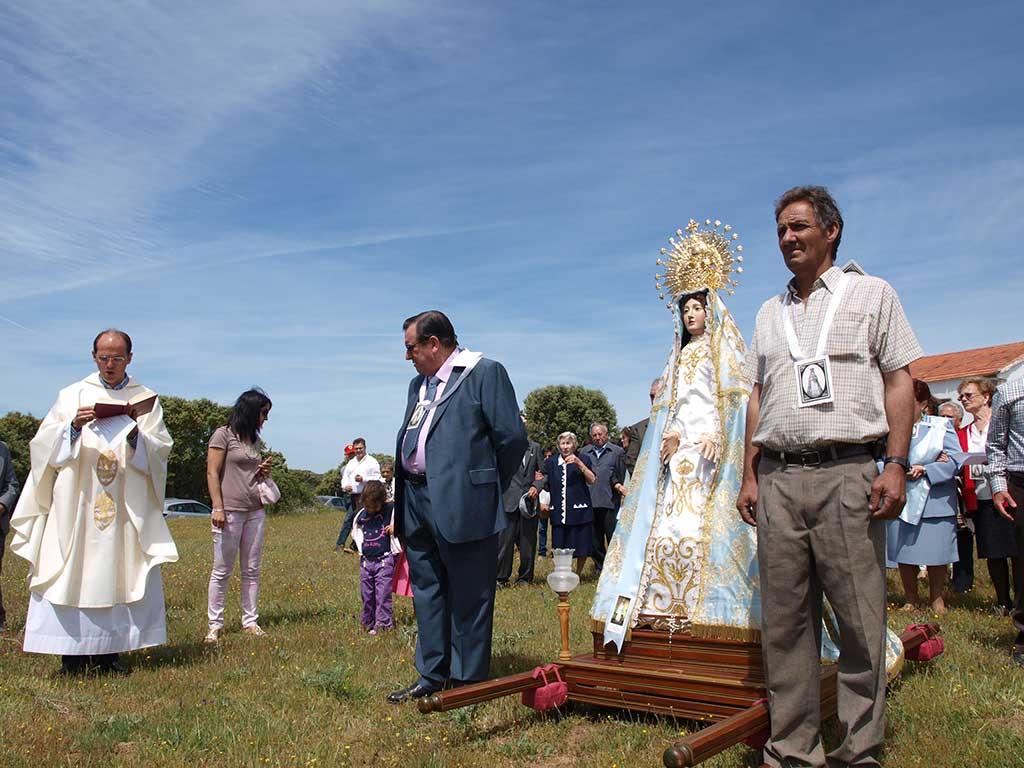 imagen de la celebración de la Virgen del Monte Foto Casquero