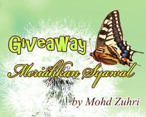 Giveaway Meriahkan Syawal By Mohd Zuhri