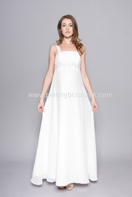 06c7ddf329 Ślub z brzuszkiem - ciążowe suknie ślubne