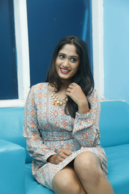 Sowmya Venugopal Latest Photos At Haveli Coffee Shop Opening