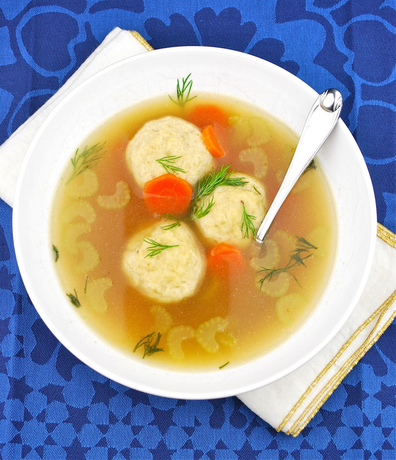 Tasty Trials: Being Happy and Matzo Ball Soup