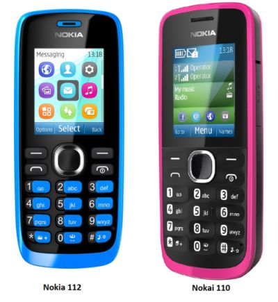 Nokia 110 dan Nokia 112, Ponsel Murah Dual Sim dengan Fitur Easy-swap