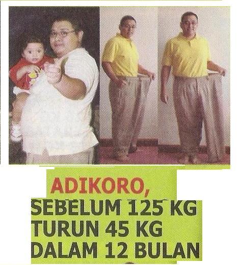 TURUN BERAT BADAN 45 KG