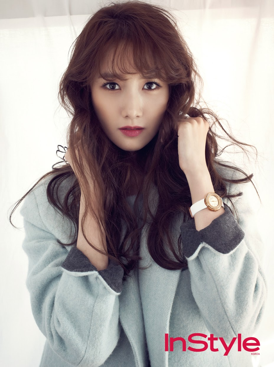 Yoona SNSD Girls Generation - InStyle Magazine December Issue 2014