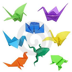 origami e tsurú decoração