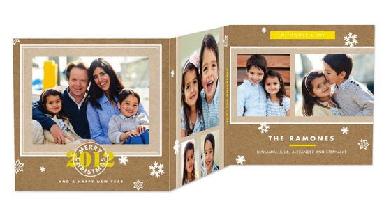 Christmas Card Tri-Fold