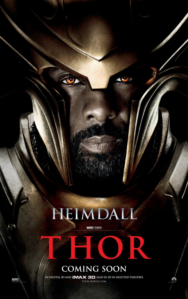 idris elba thor heimdall. hot Elba is Heimdall - Thor