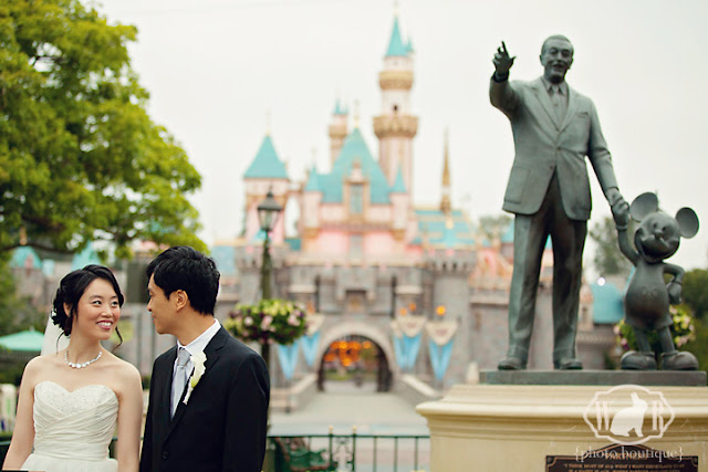 Disneyland Wedding {White Rabbit Photo Boutique}