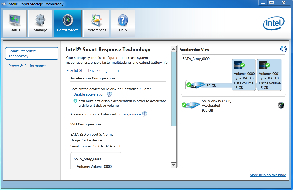 What is intel rapid storage technology how to get rid of it