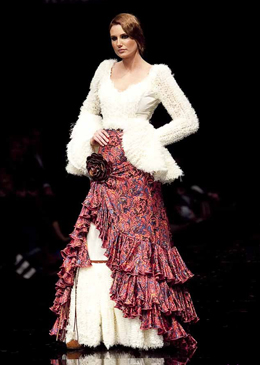 vestido flamenca Vicky Martín Berrocal