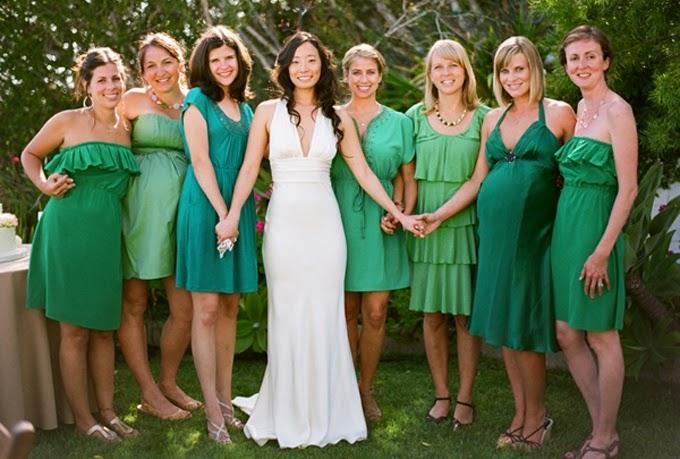 Vestido cor verde pastel