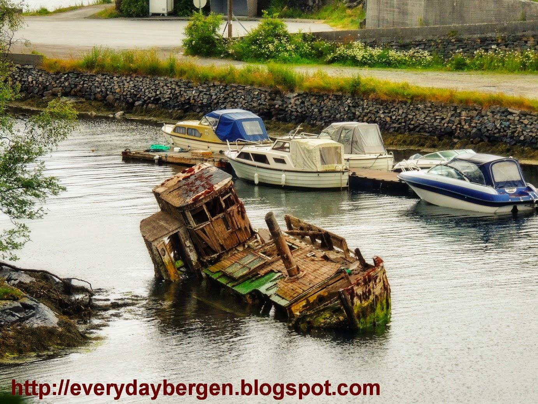 Wreck in Alvøen