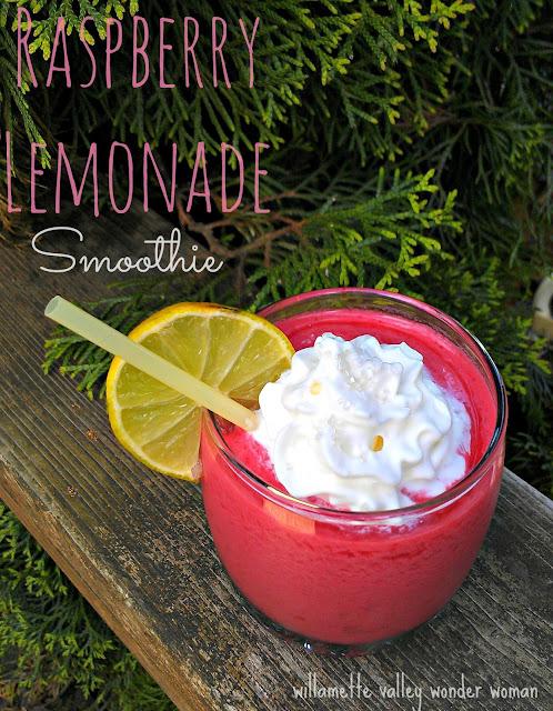Raspberry Lemonade Smoothie