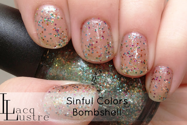 Sinful Colors Bombshell swatch