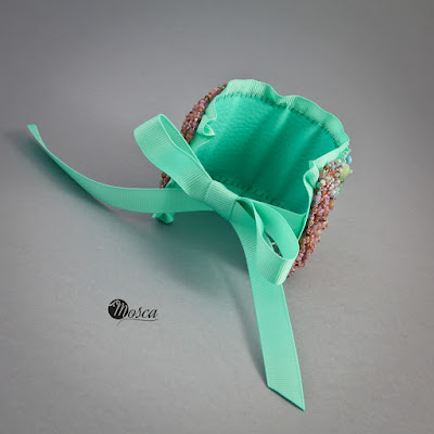bransoletka haft koralikowy