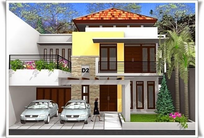 Gambar Desain Rumah Bertingkat Minimalis Modern - Minimalisrumah.web ...