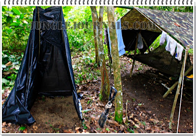 Monsoon Jungle Camping Log ~ Jungle Toilet