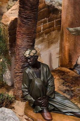 Belén Magos presepe nativity krippe Arturo Serra escultura barro cocido 13