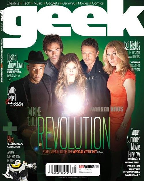 Billy Burke e o elenco de Revolution estão na nova edição da revista Geek.  Todo elenco participaram de uma entrevista exclusiva sobre o retorno da  série e ... 8e8cb5ab2d5