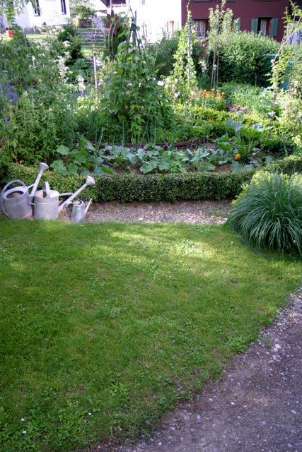 Ein Schweizer Garten: Der Gemüsegarten