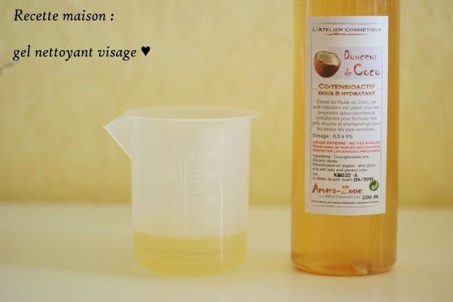 pas à pas méthode recette nettoyant visage doux mousse de coco aroma-zone produits naturels