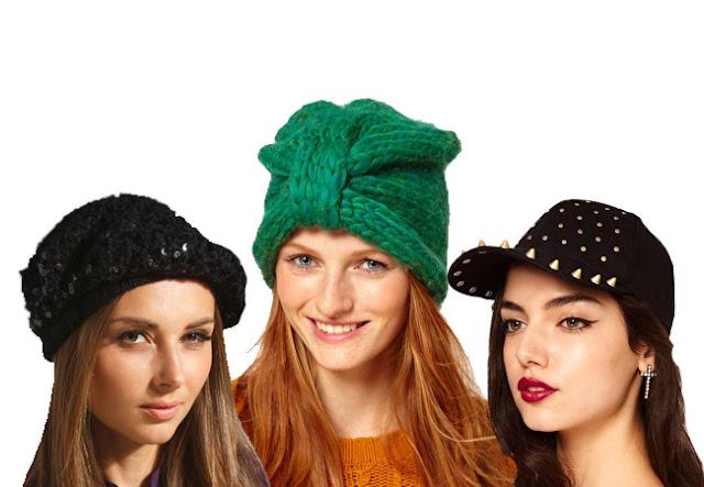 sequin beret, turban beanie, studded cap