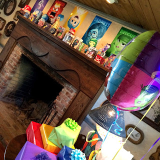 disney pixar inside out birthday party