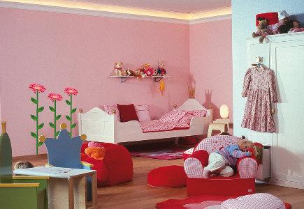 Ni o en casa decoracion de paredes de los cuartos infantiles - Paredes habitaciones infantiles ...