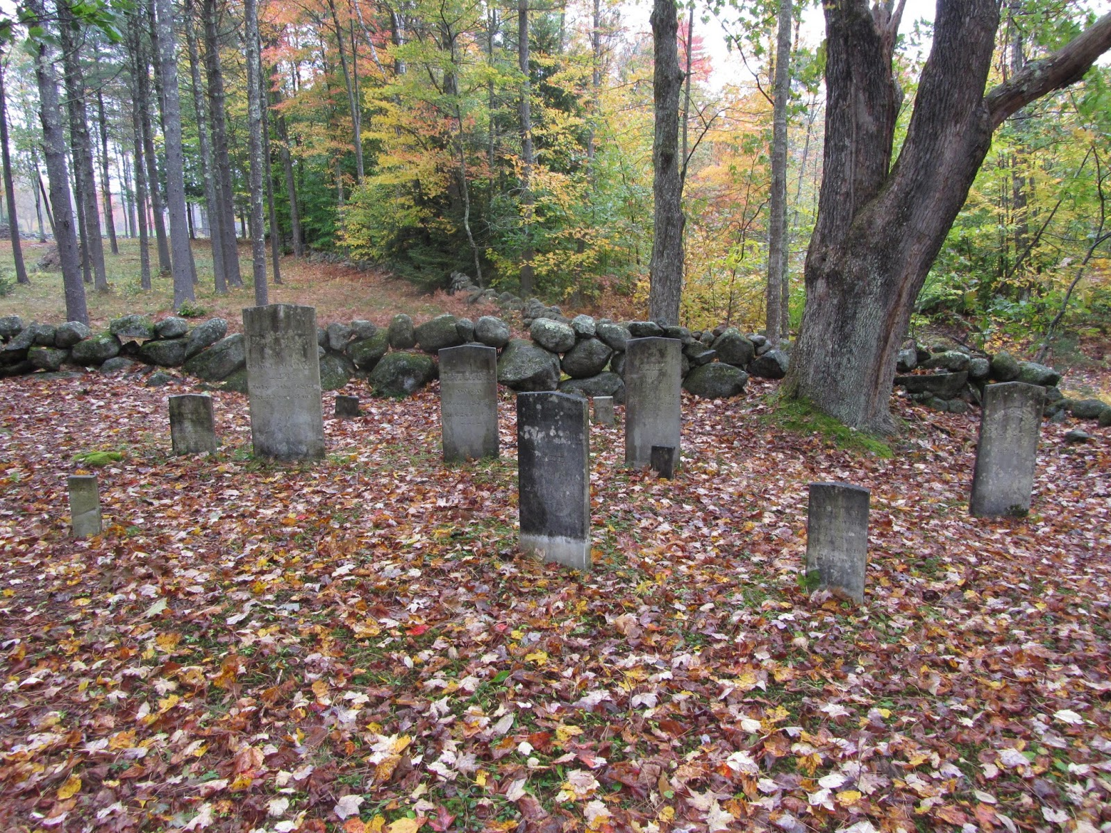 old blue genes samuel morrill cemetery in tuftonboro new hampshire