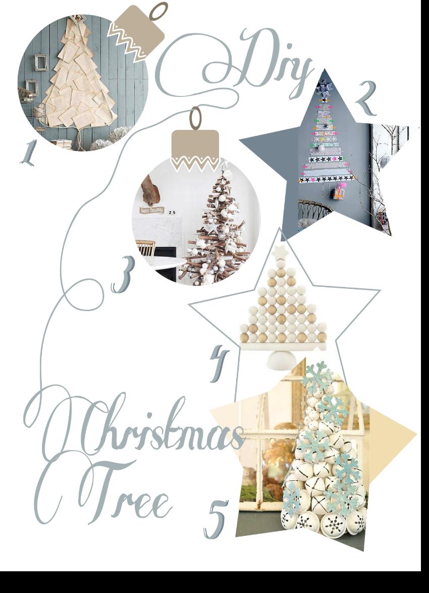 Diy para decorar el árbol de Navidad by Habitan2