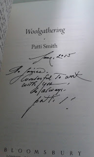 Patti Smith, Signed copy of Woolgathering - autograph