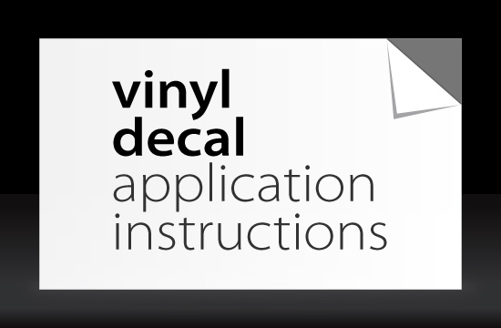 Free Vinyl Decal Application Instructions Learn Design - Custom vinyl decal application instructions