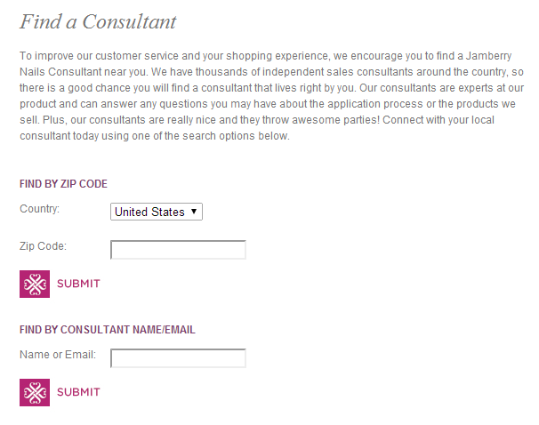 Find A Consultant : Glow girls how do i get listed on the jamberry website