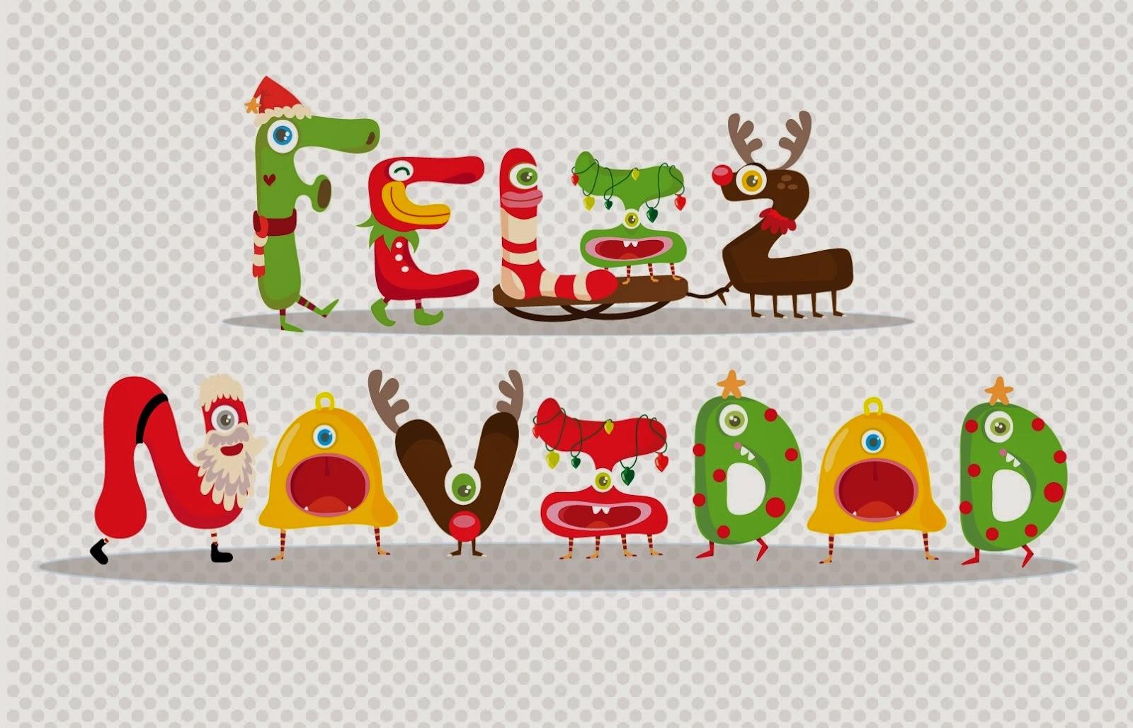 Feliz Navidad en Letras, parte 1