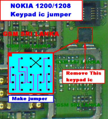Nokia 1650 Keypad Ways Track Solution