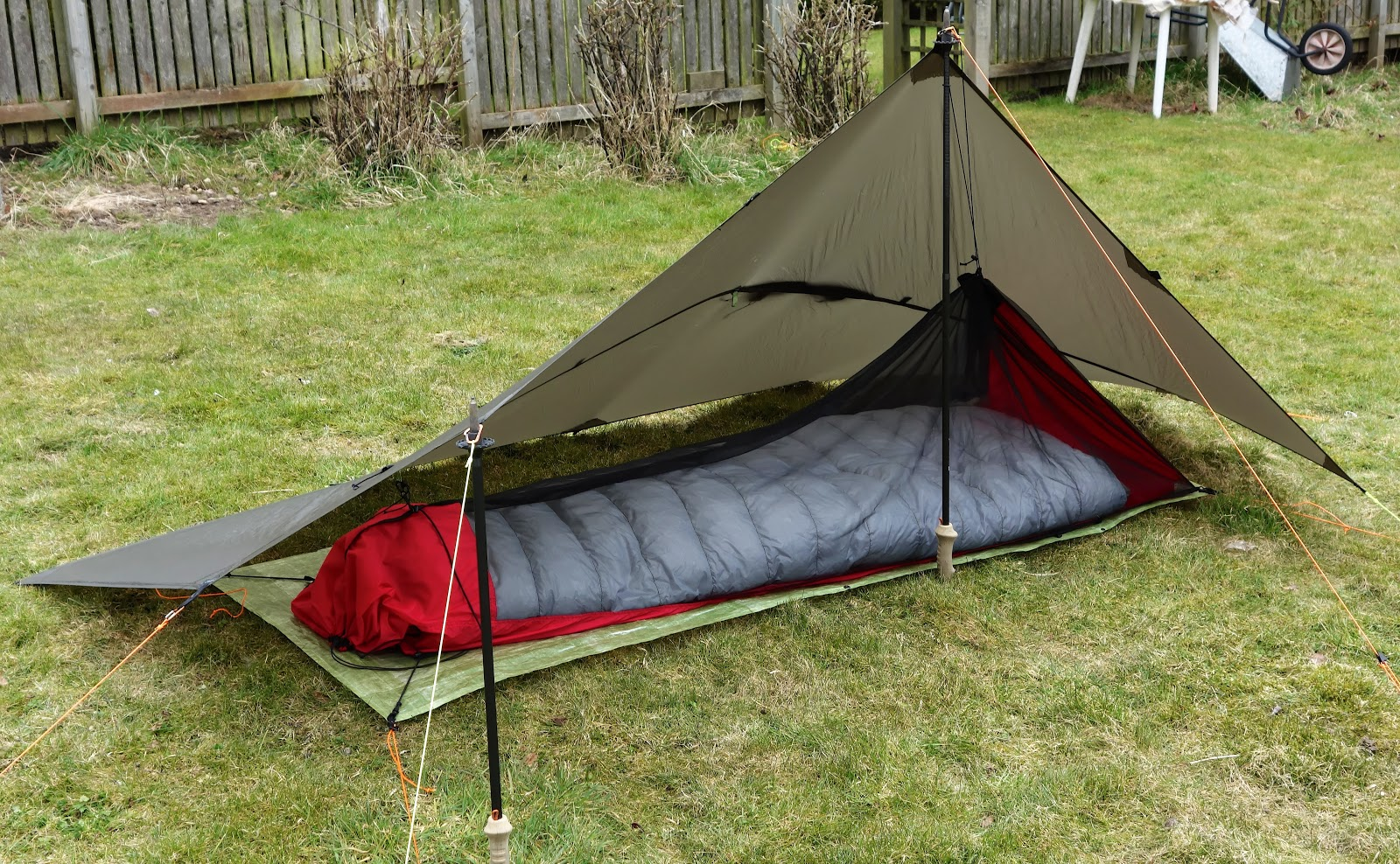 Bugsy setup for maximum ventilation : diy bivy tent - memphite.com