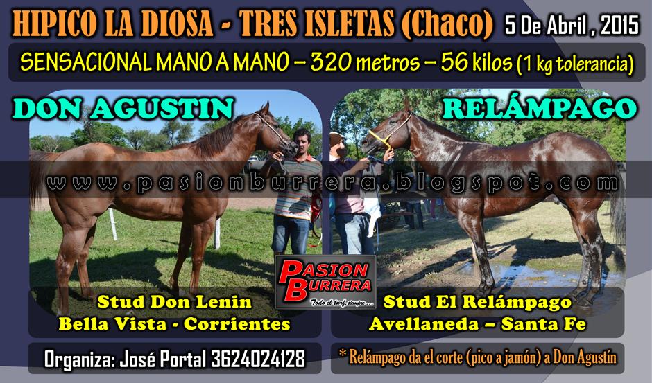 TRES ISLETAS - 29 MARZO