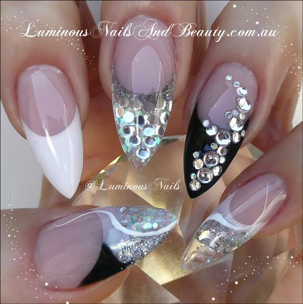 acrylic nails & love