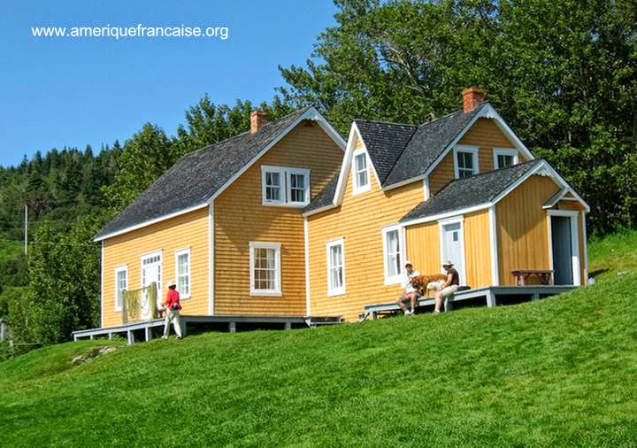 Cabaña colonial restaurada en Canadá
