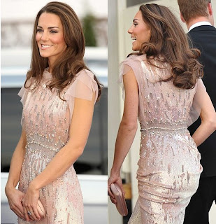 Kate Middleton Jenny Packham Gown