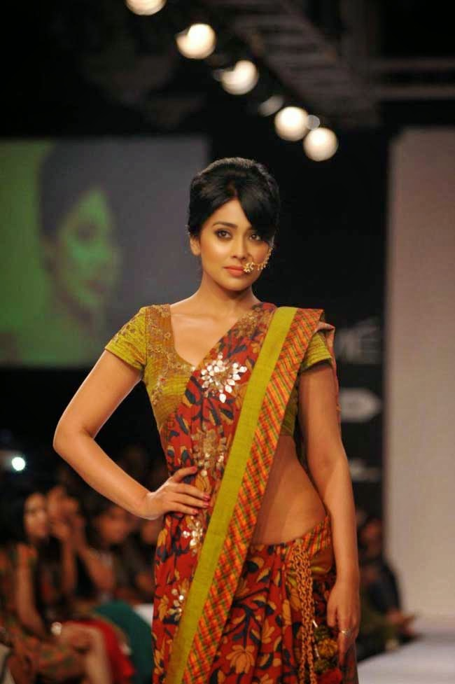 Shriya Saran At Lakme Fashion Week Winter/Festive 2014