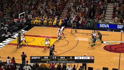 NBA 2K13 ESPN Scoreboard Conference Finals